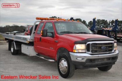 2004 Ford F550 Extended Cab with Jerr-Dan Aluminum Carrier, Stock Number U0825