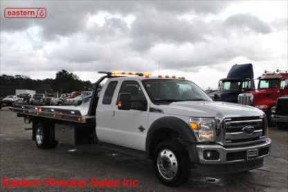 2016 Ford Lariat Ext Cab with 19ft Jerr-Dan Aluminum Carrier, Stock Number U4283