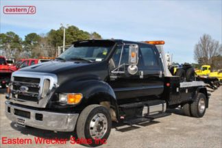 2006 Ford F650 Crew Cab with Jerr-Dan HPL60/1212D 12-ton Medium Duty Wrecker, Stock Number U8201