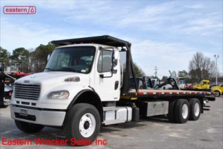 2012 Freightliner M2 with 28ft Jerr-Dan 15-ton Industrial Carrier, Stock Number U9751