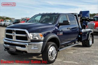 New 2018 Dodge 5500 Crew Cab SLT 4x4 with Jerr-Dan MPL40 Twin Line Wrecker, Stock Number D1671