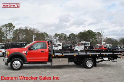New 2018 Ford F550 4x4 XLT Powerstroke Automatic with 20ft Jerr-Dan SRR6T Steel Carrier, Stock Number F1329A