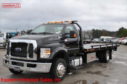 New 2018 Ford F650 with 22ft Jerr-Dan Wide Low Profile Steel Carrier, Stock Number F1672