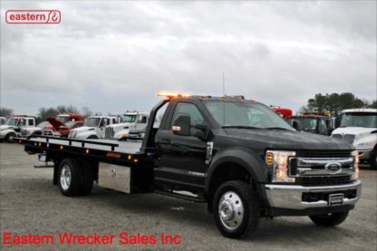 2019 Ford F550 XLT with 20ft Jerr-Dan SRR6T-WLP 6-ton Steel Carrier, Stock Number F6807