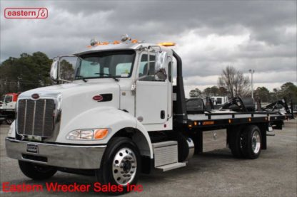 2020 Peterbilt 337, 300hp, Allison automatic, air ride, air brake, with 22ft Jerr-Dan Steel Carrier, Stock Number P8817
