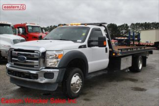 2015 Ford F550, 6.8L Gas, Automatic, 19.5ft Vulcan Steel Carrier, Stock Number U0925