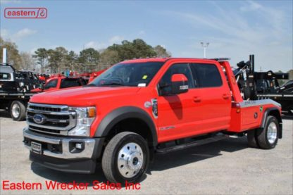 2020 Ford F550 Extended Cab Lariat 4x4, Powerstroke turbodiesel, 10-spd Automatic, Jerr-Dan MPL40 Twin Line Wrecker, Stock Number F5071