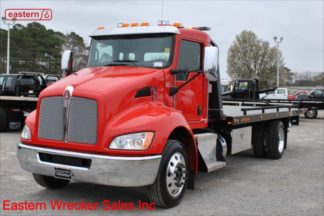 2020 Kenworth with 22ft Jerr-Dan Carrier, Stock Number K8558