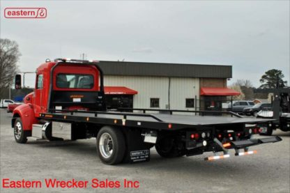 2020 Peterbilt Ext Cab, PX-7-300hp, Allison Automatic, Air Brake, Air Ride, 22ft Jerr-Dan SRR6T-WLP Steel Carrier, Stock Number P8820