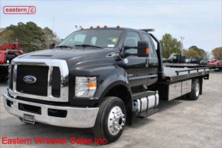 2017 Ford F650 Ext Cab with 22ft Jerr-Dan 6-ton SRR6T-WLP Carrier, Stock Number U4278