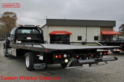 2017 Ford F650 Extended Cab with 22ft Jerr-Dan SRR6T-WLP Steel Carrier, Stock Number U6886