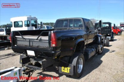 2000 GMC 6500 Series Truck, 3126 CAT, 6-spd, with 45ft Torino boat trailer, Stock Number Z5374