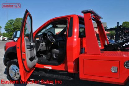 2019 Ford F450 6.8L V-10 Gas Automatic with Jerr-Dan MPL-NGS Self Loading Wheel Lift, Stock Number F8667