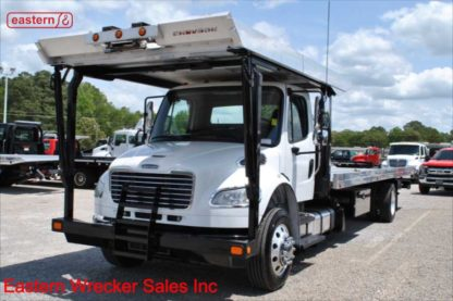 2016 Freightliner with 30ft Chevron Car Carrier, Stock Number U4385C