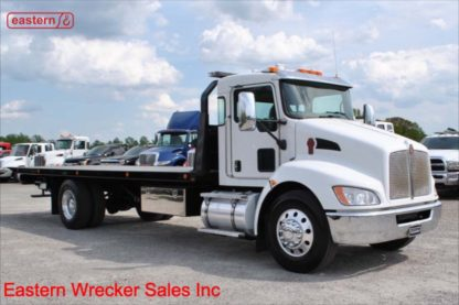 2018 Kenworth T370 PX-9-300hp Allison 3000 Automatic Air Brake with 24ft Jerr-Dan 8.5ton Steel Carrier, Stock Number U8218