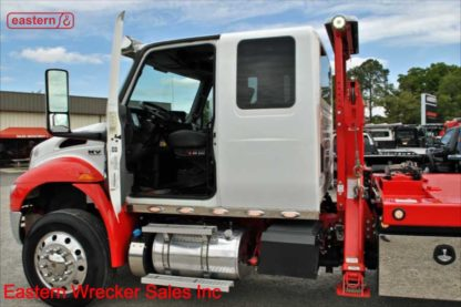 2019 International Extended Cab, Cummins L9-350hp, 33,000lb GVWR, 24ft Jerr-Dan 8.5 ton carrier, SRS10 Side Recovery System, Stock Number U9250