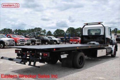 2015 Hino 258, J08E Turbodiesel, Allison Automatic, 21ft Jerr-Dan RRSB Steel Carrier, IRL Wheel Lift, Stock Number U1182