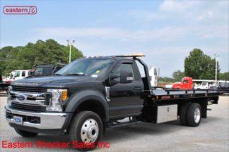 2017 Ford F550 XLT 6.8L V10 Gas with 19ft Jerr-Dan RRSB Steel Carrier, Stock Number U3923