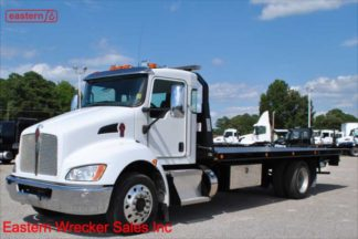 2018 Kenworth T270 with 22ft Jerr-Dan 6-ton Steel Carrier, Stock Number U6829
