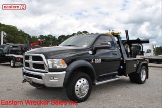 2017 Dodge Ram 4500 SLT 4x4, 6.7L Cummins, Automatic, Jerr-Dan MPL-NGS Self Loading Wheel Lift, Stock Number U8053