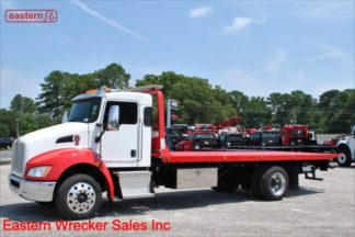 2016 Kenworth T270 300hp with 21ft Jerr-Dan RRSB 6-Ton Steel Carrier, Stock Number U1671