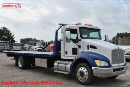 2018 Kenworth T270, PX-7-300hp, Automatic, with 22ft Jerr-Dan Steel Carrier, Stock Number U5193