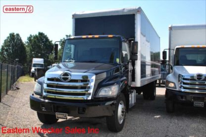 2017 Hino 268 with 26ft Box Van Body and Lift Gate, Stock Number U5842A