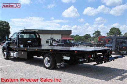 2017 Ford F650, Air Brake, Air Ride, 21ft Jerr-Dan Steel Carrier, Stock Number U6850