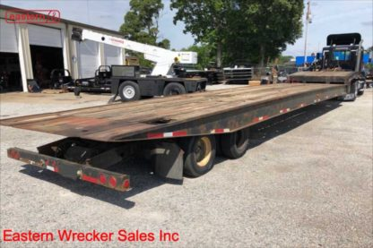 2000 National Trailer, 53ft overall, air ride, air brake, 15,000lb winch, Stock Number U0576