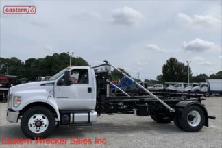 2021 Ford F750, 6.7L Powerstroke Turbodiesel, SwapLoader SL180, Stock Number F3589