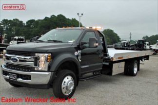 2019 Ford F550 XLT with 20ft Jerr-Dan Aluminum NGAF6T-WLP Wide Carrier, Stock Number F4172A