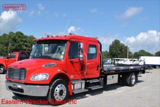 2020 Freightliner Crew Cab M2-106, 22ft Jerr-Dan SRR6T-WLP Steel Carrier, Stock Number F6261
