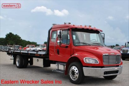 2020 Freightliner M2 106 Extended Cab, Air Ride, 22ft Jerr-Dan Steel 6-ton Carrier, Stock Number F8747