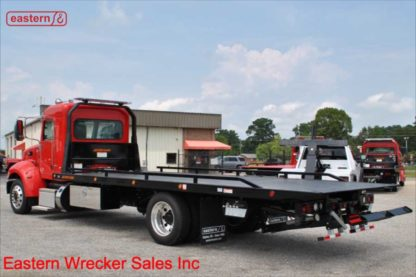 2020 Peterbilt 337, Extended Cab, 300hp, with 22ft Jerr-Dan SRR6T-WLP Wide Low Profile 6-ton Steel Carrier, Stock Number P8822