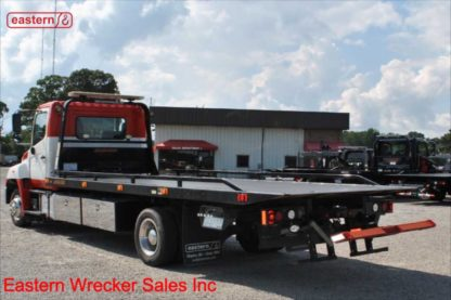 2014 Hino 258 with 21ft Jerr-Dan Steel Carrier, Stock Number U0996