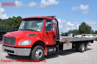2019 Freightliner M2 with 21ft Jerr-Dan 6-ton Wide Aluminum Carrier, Stock Number U9390