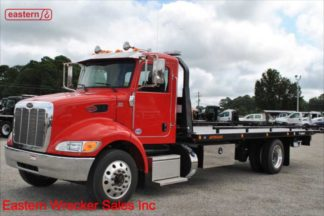2020 Peterbilt, PX-7, Allison, Air Brake, Air Ride, 22ft Jerr-Dan SRR6T-WLP, Stock Number P6599