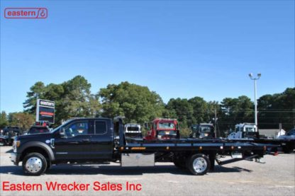 2019 Ford F550 Extended Cab, XLT, 6.7L Powerstroke, Automatic, 20ft Jerr-Dan SRR6T-WLP Steel Carrier, Stock Number F2668