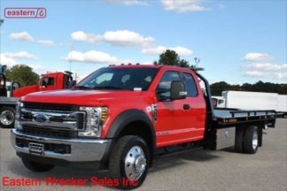 2019 Ford F550 Ext Cab, 6.7L Powerstroke, Automatic, XLT, 20ft Jerr-Dan SRR6T-WLP Steel Carrier, Stock Number F2692