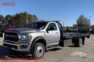 2019 Dodge Ram 5500, Cummins, Automatic, SLT, with 20ft Jerr-Dan 6-ton SRR6T-WLP Low Profile Steel Carrier, Stock Number D8228