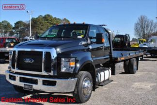 2019 Ford F650 Extended Cab, 22ft Jerr-Dan SRR6T-WLP Steel Carrier, Stock Number F5563