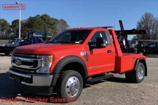 2020 Ford F450, XLT, Powerstroke Turbodiesel, Automatic, with Jerr-Dan MPL-NGS Self Loading Wheel Lift, Stock Number F6292