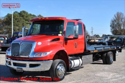 2021 International Extended Cab, Cummins, Automatic, with 22ft Jerr-Dan SRR6T-WLP Steel Carrier, Stock Number I5185