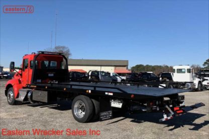 2021 Kenworth T270, Paccar PX7 - 300hp, Automatic, Air Ride, Air Brake, 22ft Jerr-Dan 6-ton SRR6T-WLP Steel Carrier, Stock Number K2409