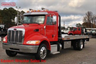 2020 Peterbilt Extended Cab, Paccar 300hp, Allison, Air Brake, Air Ride, 22ft Jerr-Dan NGAF6T-WLP Aluminum Carrier, Stock Number P8830