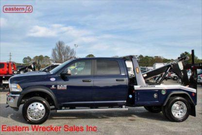 2018 Dodge Ram 5500 Crew Cab SLT 4x4 with Jerr-Dan MPL40 Twin Line Wrecker, Stock Number U1671A