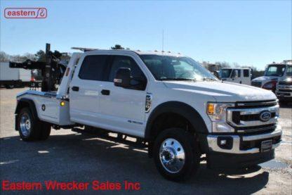 2020 Ford F550 Crew Cab XLT 4x4 with Jerr-Dan MPL40 Twin Line Wrecker, Stock Number F2107