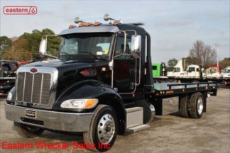 2020 Peterbilt Ext Cab, PX-7 300hp, Allison Automatic, Air Brake, Air Ride, 22ft Jerr-Dan SRR6T-WLP Carrier, Stock Number P8825