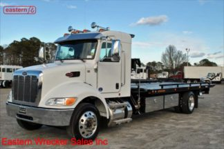 2020 Peterbilt 337 Ext Cab, PX7 300hp, Allison, Jerr-Dan SRS10 Side Recovery System, 22SRR6TWLP 6-ton Carrier, Stock Number P8827