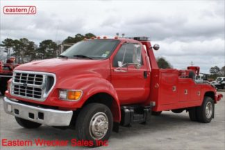 2001 Ford F650 with Vulcan 896 12-ton Medium Duty wrecker, Stock Number U0072
